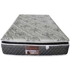 Bedzone Deluxe 5 Zones Latex Pillowtop Mattress