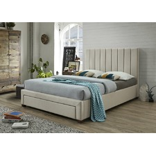 Derry Queen Bed with 1 Drawer & Mattress