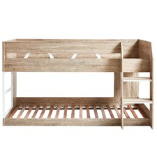 Oak Grace Low Line Single Bunk Bed