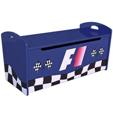 Racer Gas Lift Toy Box