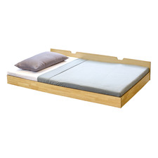 Natural Galaxy Single Trundle Bed
