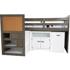 Austin Midi Sleeper Single Bed with Cabinet