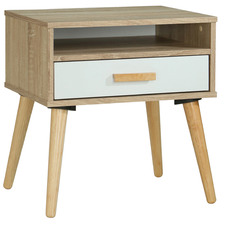 Natural Soren Bedside Table