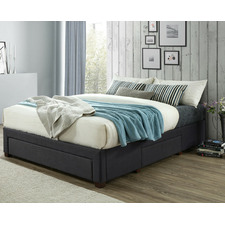 Astro Queen Storage Bed Frame with Medium Pocket Spring Mattress