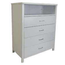 White Callie Chest of Drawers