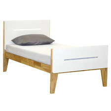 Willa Wooden King Single Bed with Trundle