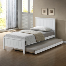 Leo Wooden Bed with Trundle