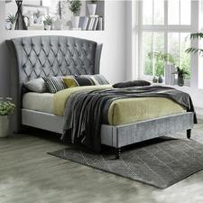 Royal Velvet Queen Bed Frame