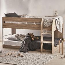 Oak Grace Low Line Single Bunk Bed