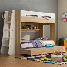 Galway Single Trio Bunk Bed with Trundle