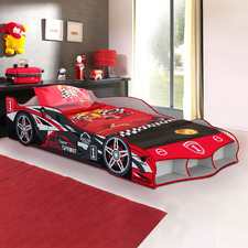 Red Super Sprint Racing Car Bed