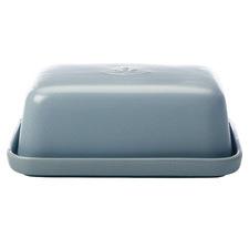 Blue Moderna Stoneware Butter Dish