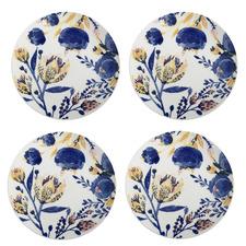 Fiorella 27cm Porcelain Dinner Plates (Set of 4)