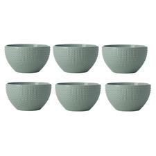 Sage Corallo 13.5cm Porcelain Bowls (Set of 6)