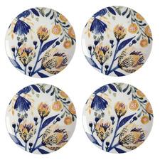 Fiorella 20cm Porcelain Dinner Plates (Set of 4)