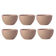 Pink Corallo 11cm Porcelain Bowls (Set of 6)