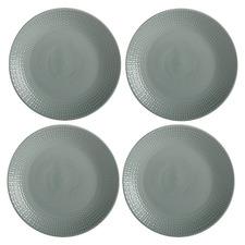 Sage Corallo 19cm Porcelain Side Plates (Set of 4)