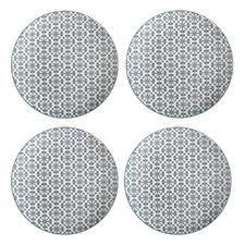 Light Green Sintra 20cm Porcelain Side Plates (Set of 4)