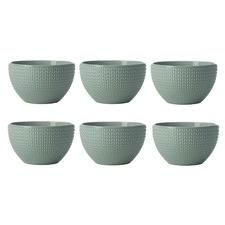 Sage Corallo 11cm Porcelain Bowls (Set of 6)