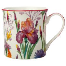 Chelsea Gardens Iris 300ml Porcelain Mug