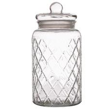 Trellis 4.35L Glass Storage Jar