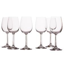 Evolve 350ml Wine Glasses (Set of 6)