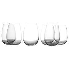 Evolve Stemless 460ml Wine Glasses (Set of 6)
