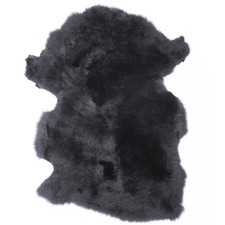 Noir Soft Merino Sheep Rug