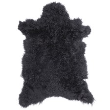 Noir Cashmere Goat Rug