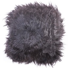 Icelandic Long Noir Sheep Cushion