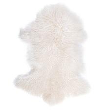 Frost Mongolian Sheepskin Rug