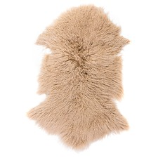 Toffee Mongolian Sheep Rug