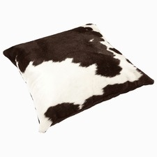 Black & White Cow Hide Cushion