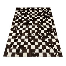 Friesian Patchwork Cow Hide Rug