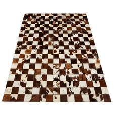 Normand Patchwork Cow Hide Rug
