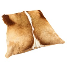 Natural Springbok Cushion