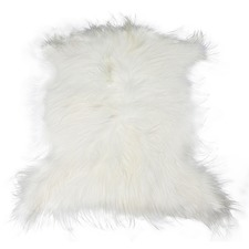 Frost Himalayan Goat Hide Rug