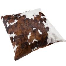 Tri Colour Iasis Cow Hide Cushion