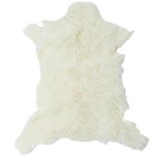 Frost Kashmir Goat Hide Rug