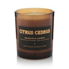 Citrus Cedrus Aromatherapeutic Candle