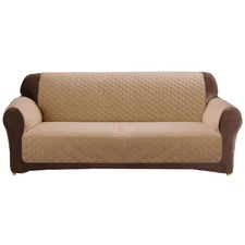 Custom Fit Dark Flax 2 Seater Sofa Cover Protector