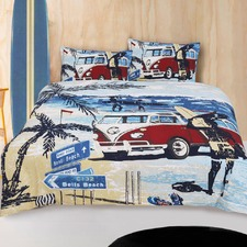 Retro Summer Quilt Cover Set
