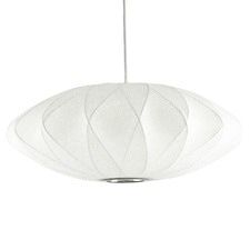 Replica George Nelson Bubble Lamp Criss Cross Saucer Pendant Light