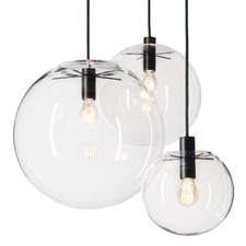 Replica Selene Glass Pendant Light by Sandra Lidner
