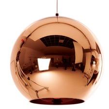 Replica Tom Dixon Copper Shade Round Glass Pendant Light