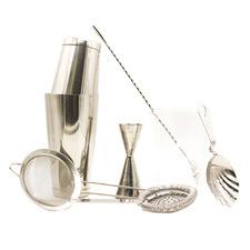 Silver Bartender's Kit