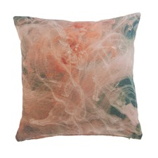 Uppsala Coral Square Cushion