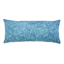 Laguna Aqua Blue Rectangular Cushion