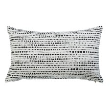 Nimes Black Rectangular Cushion