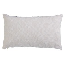 Valence Soft Pink Rectangular Cushion